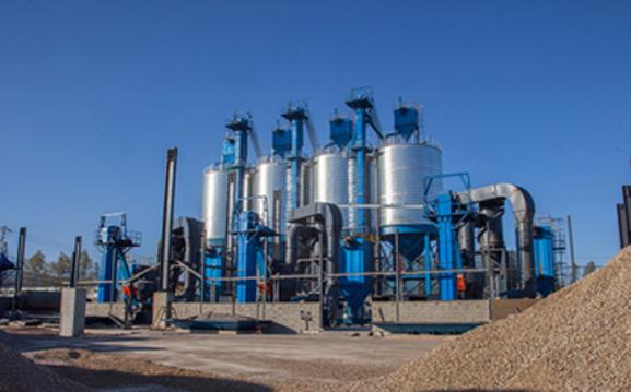 山西太原30万吨电厂脱硫生产线