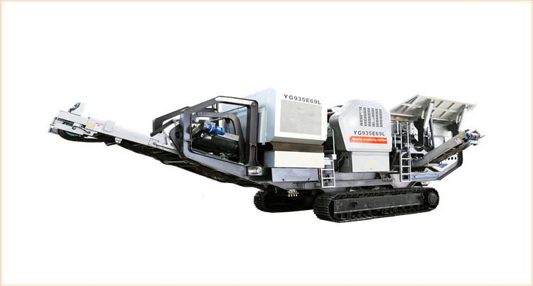 时产200吨移动式青石粉碎石粉机器是常用的青石加工设备