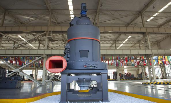 MB5X摆式悬辊磨粉机