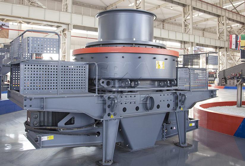 VSI5X新型鹅卵石制砂机