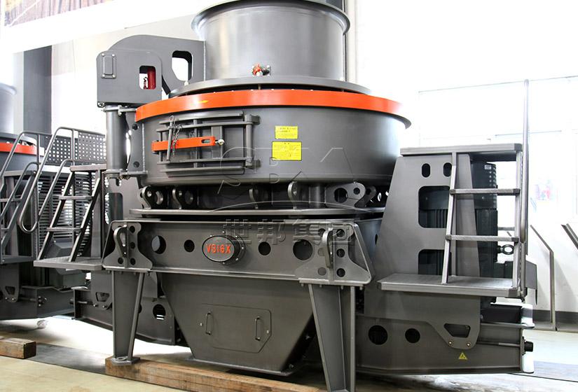 第六代制砂机|VSI6X立轴式冲击破|石打石制砂机|冲击式制砂机