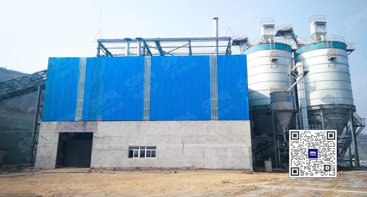 LM立磨助力山西建成年产30万吨建材石膏粉生产线